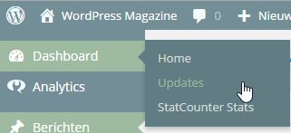 Updates WordPress Magazine