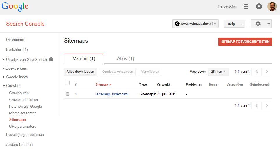 sitemap xml google console slimniyaseru