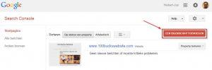 Website Aanmelden bij Google Search Console