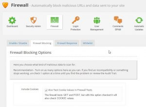 Firewall - Shield ‹ WordPress Basis