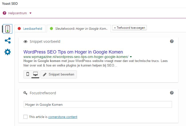 Zoekmachine optimalisatie per artikel - Hoger in Google komen